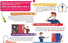 Cách ly tại nhà phòng dịch COVID-19 cần tuân thủ những quy định nào?