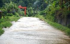 Mưa lớn gây thiệt hại ở một số tỉnh miền núi phía Bắc