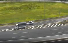 Phạt 17 triệu đồng, tước bằng 6 tháng với nữ tài xế lái xe đi lùi trên cao tốc HN-HP