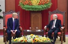 Lãnh đạo Việt Nam gửi điện mừng Quốc khánh Hoa Kỳ