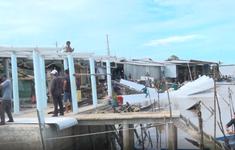 Cà Mau: Sạt lở gây hư hại 14 căn nhà