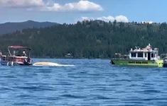 Mỹ: Hai máy bay đâm nhau và rơi xuống hồ gây thương vong