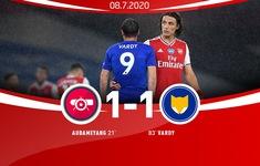 Arsenal 1-1 Leicester: Tội đồ Nketiah khiến Pháo thủ đánh rơi chiến thắng