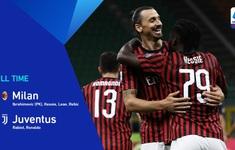 AC Milan 4-2 Juventus: Ibrahimovic làm lu mờ Ronaldo, Milan ngược dòng ấn tượng