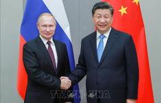 Lãnh đạo Nga - Trung Quốc điện đàm, khẳng định tiếp tục hợp tác
