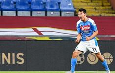Genoa 1-2 Napoli: Người hùng từ băng ghế dự bị (Vòng 31 Serie A)
