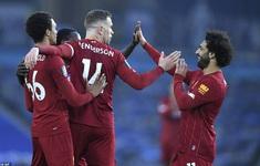 Brighton 1-3 Liverpool: Mo Salah trở lại cuộc đua Vua phá lưới (Vòng 34 Ngoại hạng Anh)