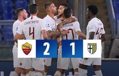 Roma 2-1 Parma: Mkhitaryan lập công (Vòng 31 Serie A)