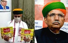 Chính trị gia Ấn Độ mắc COVID-19 sau khi quảng cáo snack chống virus SARS-CoV-2