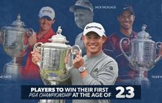 Collin Morikawa – nhà vô địch PGA Championship 2020: Chơi golf từ thuở lên 5, đi vào lịch sử tuổi 23!