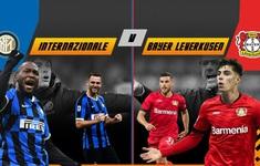 TRỰC TIẾP BÓNG ĐÁ Inter Milan - Bayer Leverkusen: Tứ kết Europa League (02h00 ngày 11/8)