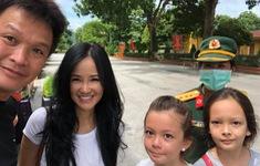 Diva Hồng Nhung và 2 con đã kết thúc 14 ngày cách ly