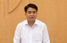 Tạm đình chỉ công tác Chủ tịch UBND TP Hà Nội Nguyễn Đức Chung