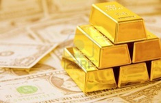 Chiều 11/8, giá vàng châu Á giảm hơn 1%
