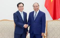 Thủ tướng khẳng định sẽ tiếp tục tạo mọi điều kiện cho doanh nghiệp Hàn Quốc
