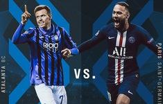 Lịch thi đấu tứ kết Champions League hôm nay: Atalanta - PSG (02h00 ngày 13/8)