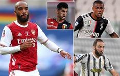 HLV Pirlo chọn Lacazette, Juventus sẵn sàng đổi 3 ngôi sao