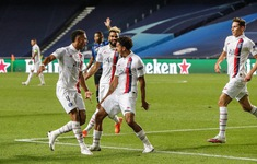 ẢNH: Neymar, Mbappe và PSG tái hiện màn ngược dòng của Man Utd trước Bayern