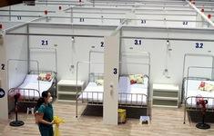 Cận cảnh Bệnh viện dã chiến Tiên Sơn trước giờ vận hành