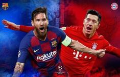 TRỰC TIẾP BÓNG ĐÁ Barca vs Bayern: 02h00 hôm nay (15/8) - Tứ kết Champions League