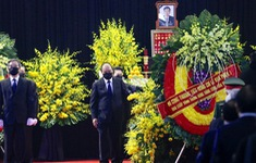 TRỰC TIẾP Lễ truy điệu nguyên Tổng Bí thư Lê Khả Phiêu