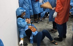 6 công nhân lắp ráp điện tử ngất xỉu trong giờ làm việc ở Quảng Ninh