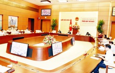 Chủ tịch Quốc hội Nguyễn Thị Kim Ngân chủ trì Phiên họp lần thứ nhất Hội đồng Bầu cử quốc gia