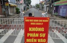 Phong tỏa khu dân cư nơi bệnh nhân COVID-19 số 595 sinh sống