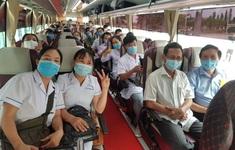 Thêm 25 y, bác sĩ từ Bình Định hỗ trợ Đà Nẵng chống dịch
