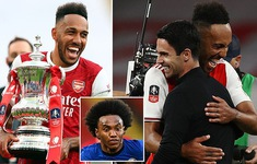 NÓNG: Arsenal đạt thỏa thuận miệng gia hạn hợp đồng với Aubameyang