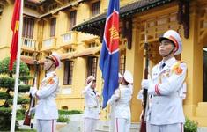 Thượng cờ kỷ niệm 53 năm thành lập ASEAN