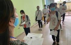 96,3% thí sinh đến làm thủ tục dự thi, hơn 26.000 thí sinh phải thi đợt 2