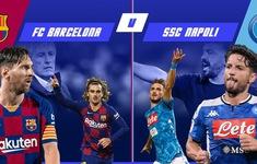 Barca vs Napoli: Chờ đợi ở Messi – xin đừng như Ronaldo của Juventus!