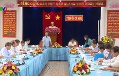Thường trực Ban Bí thư kiểm tra công tác chuẩn bị Đại hội Đảng bộ tại Cà Mau