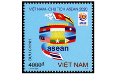 """Phát hành bộ tem """"Việt Nam Chào mừng năm ASEAN"""""""