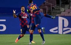 TRỰC TIẾP BÓNG ĐÁ Barca 3-1 (4-2) Napoli: Hết hiệp một