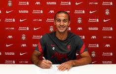 Liverpool chính thức ký hợp đồng với Thiago Alcantara
