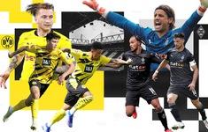 TRỰC TIẾP BÓNG ĐÁ Dortmund - M'gladbach: 23h30 trên VTV5, VTV6
