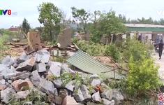 Hà Tĩnh lợp lại nhà cho dân sau bão