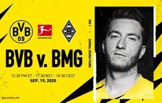 Dortmund - M'Gladbach: Bayern gọi, Dortmund trả lời? (23h30 ngày 19/9, trực tiếp trên VTV5, VTV6)