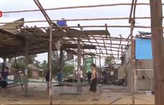 Lực lượng vũ trang giúp dân khắc phục hậu quả sau bão