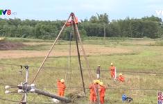 Quảng Trị khắc phục sự cố điện do bão