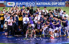 Khoảnh khắc CLB Hà Nội đăng quang chức vô đich Cúp Quốc gia 2020