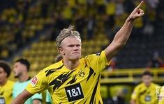 Kết quả Dortmund 3-0 M'gladbach: Haaland lập cú đúp, Dortmund thắng thuyết phục trận mở màn