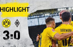 VIDEO Highlights: Dortmund 3-0 M'gladbach (Vòng 1 Bundesliga 2020-21)