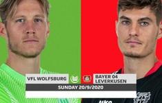 TRỰC TIẾP BÓNG ĐÁ Wolfsburg - Bayer Leverkusen: 23h00 ngày 20/9, trực tiếp trên VTV5, VTV6