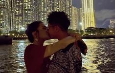 Hoa hậu chuyển giới Hương Giang công khai ảnh hôn môi với bạn trai mới