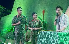 Chí Thiện tố Hoàng Yến Chibi phấn khích khi lén nhìn các chiến sĩ