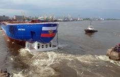 Tàu phá băng chạy bằng năng lượng hạt nhân lớn nhất thế giới khởi hành tới Bắc Cực
