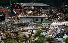 Nhật Bản cảnh báo nguy cơ lũ lụt và lở đất do bão Dolphin